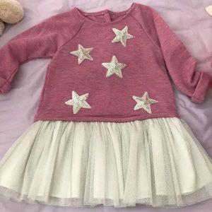 Pippa & Julie Star dress 2T